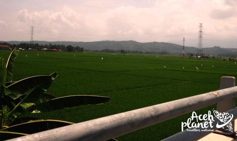 Potret Kawasan Jembatan Layang - Pidie Jaya