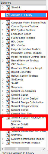 Arduino Support Package in Simulink MATLAB