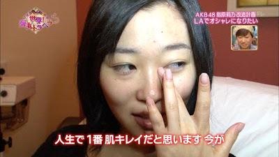 指原莉乃(さっしー)すっぴん画像その7