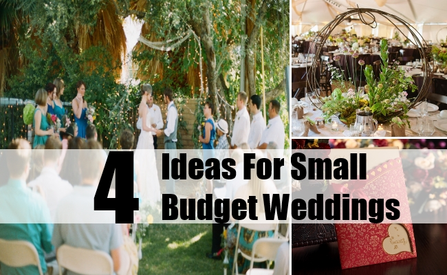 The Smaller The Better: Small And Intimate Weddings