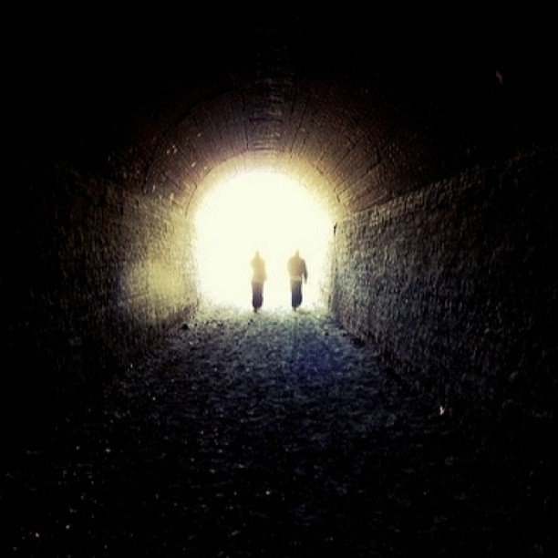 El tunel, en Gaiman, Chubut, Argentina