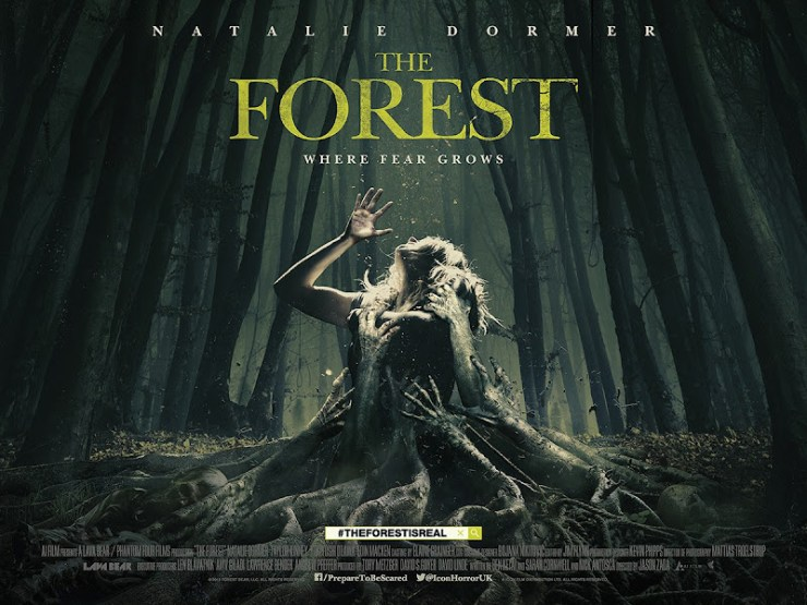 Floresta Maldita - A Floresta (The Forest) Onde o medo cresce, diz o novo banner poster