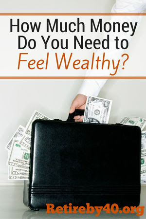 How much money do you need to feel wealthy?