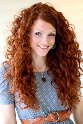 cute curly hairstyles long