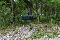 secret camping spot