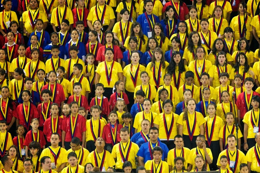 Venezuela bursting with orchestras