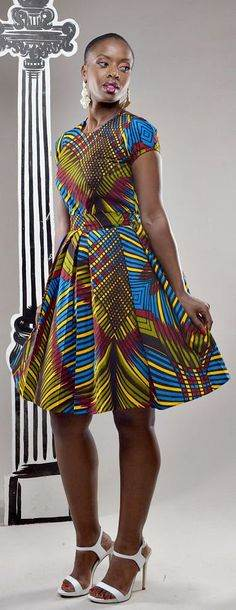 latest kitenge dress designs for women 2017 2018  styles 7