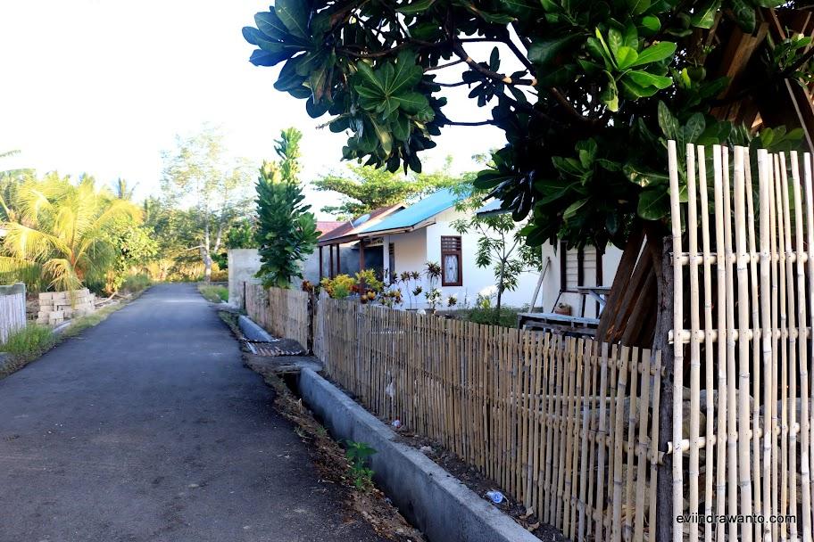 Kampung Nelayan yang tertata rapi