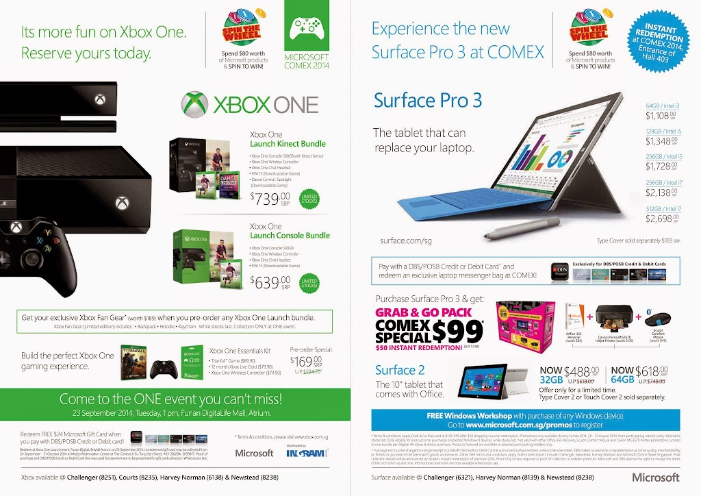 Microsoft COMEX 2014 Flyer - Page 1
