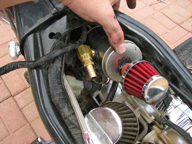 DIY Crankcase Breather Catch Can | Zia Rider Blog