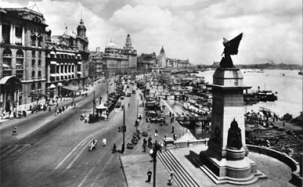Shanghai_1928_Bund_Cenotaph