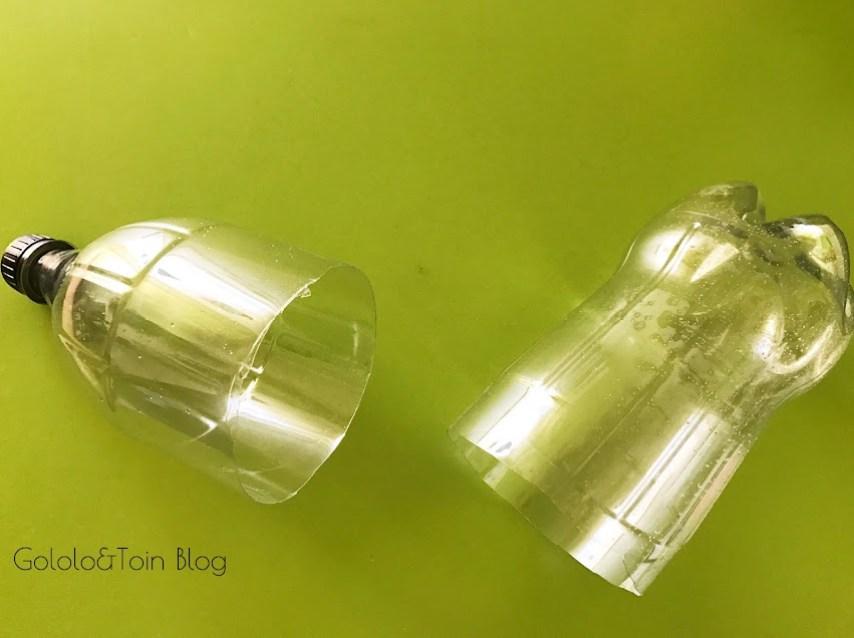 manualidades de reciclaje con botellas de plastico