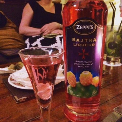 The local Maltese liqueur