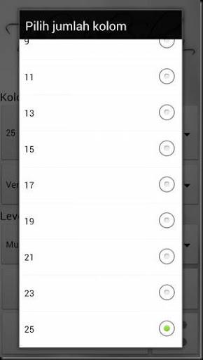 permainan teka teki silang di smartphone android