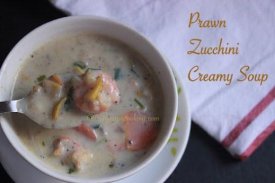 Prawn Zucchini Creamy Soup1
