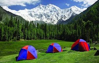 A breathtaking view of Nanga Parbat from Fairy meadows