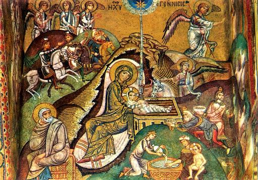 Natività, Cappella Palatina, Palermo. Sec. XII. (fonte web)