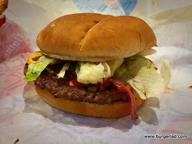 Dairy Queen Bacon Cheese Grillburger