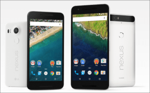 Google Nexus 5X e 6P