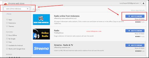 cara mendengarkan radio online indonesia