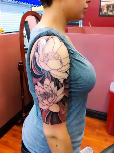 girls arm tattoos