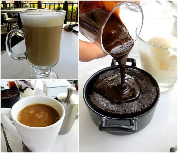Hyatt Palms Aruba Chocolate Molten Cake