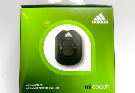 Adidas miCoach Pacer Bundle Retail Packaging
