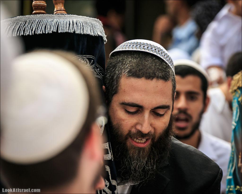 Симхат Тора в Иерусалиме   LookAtIsrael.com - Фотографии Израиля и не только...