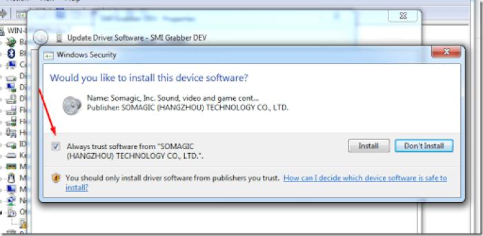trik install software cctv easy cap