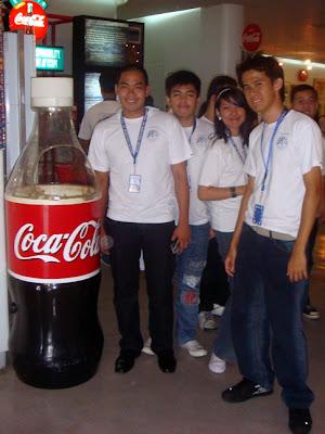 February 25: Coca Cola Bottlers Philippines, Sta. Rosa, Laguna