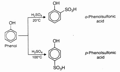 Sulfonation Of Phenol, Phenol sulfonation, Hso3, phenol notes, Phenol dye formations, crackchemistry
