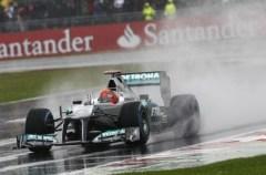 Formula One - MERCEDES AMG PETRONAS, British GP. 6-8 July 2012. Michael Schumacher. Photo Mercedes-Benz