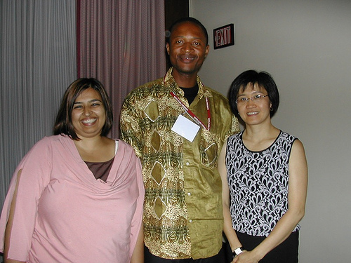 Hardika, Tinshu, Lee. Hardika & Lee were two of my three mentors at GSBI 2006. The 3rd was Anthony.