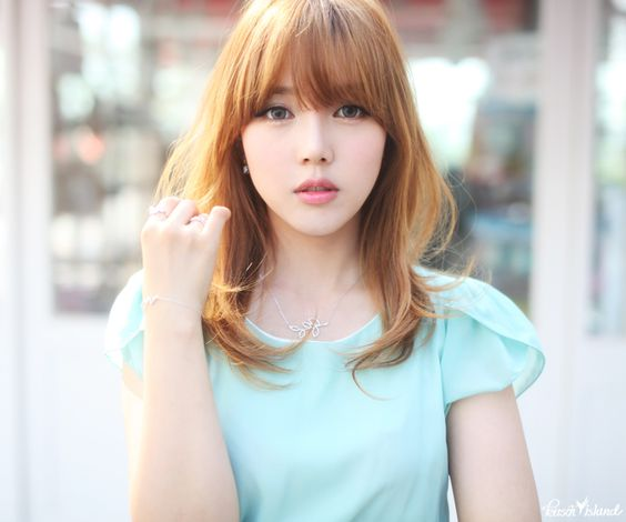 Korean hairstyles female 2018