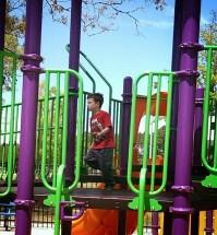 Playground Fun Running