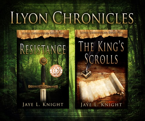Ilyon Chronicles book covers