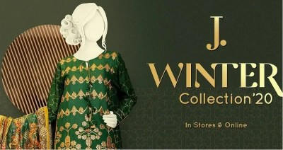 Junaid Jamshed Unstitched Winter collection 2020