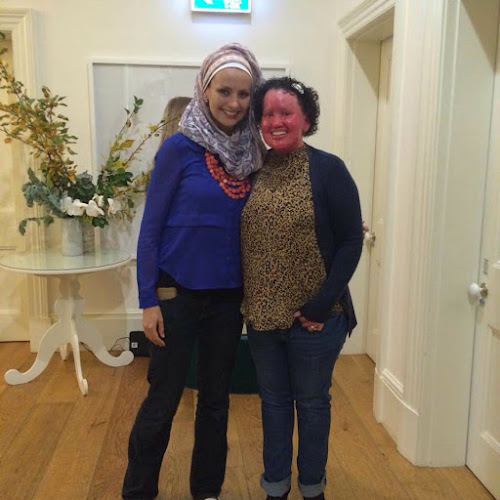 Carly Findlay and Dr Susan Carland