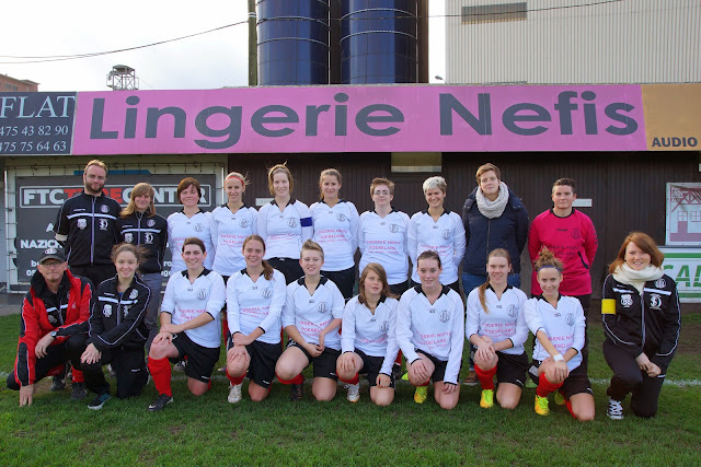 Club Roeselare dames 2014-2015