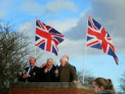 Singing the Shrovetide song and the National Antham