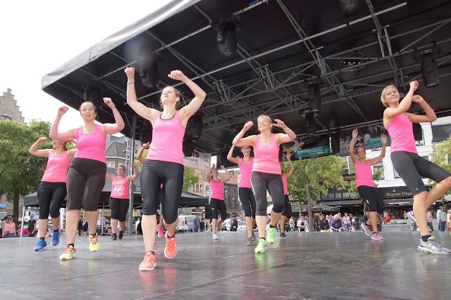 dansoptreden De Fitness