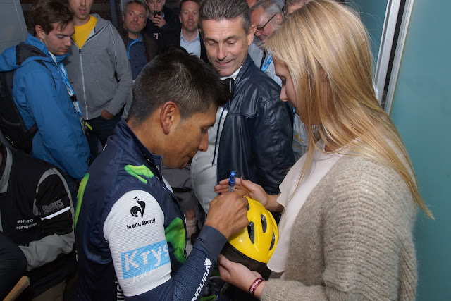 handtekening Nairo Quintana