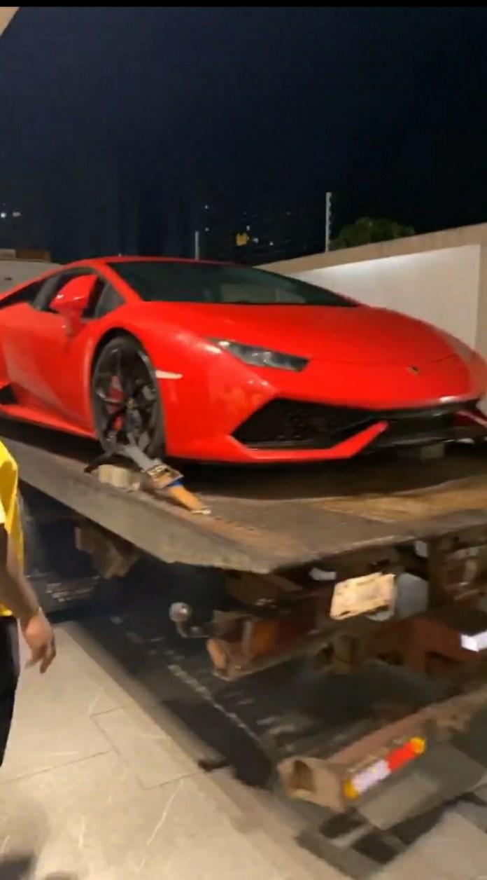 Watch) Davido acquires a N143M Lamborghini Aventador