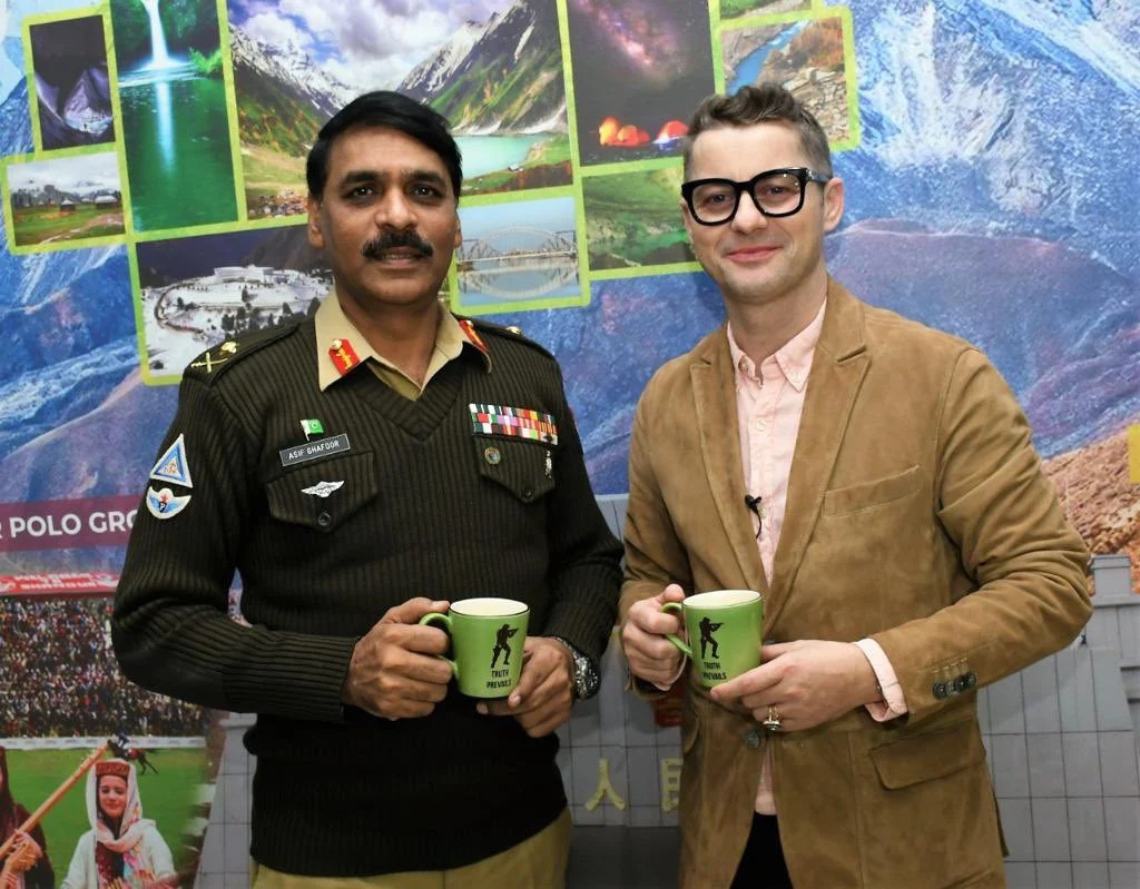 Singer Sena Adrian Congratulates Former DG ISPR Major General Asif Ghafoor And Wish to have Another Fantastic Cup of Tea