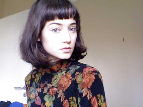 Strange Simple Short Hair With Blunt Bangs Hairstyle Fs Short Hairstyles Gunalazisus