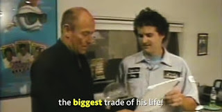 Kyle Made the biggest trade of his entire life