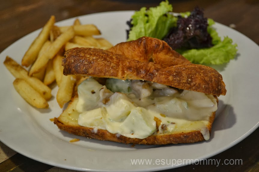 Waldorf Sandwich at Harina Artisan Bakery and Cafe