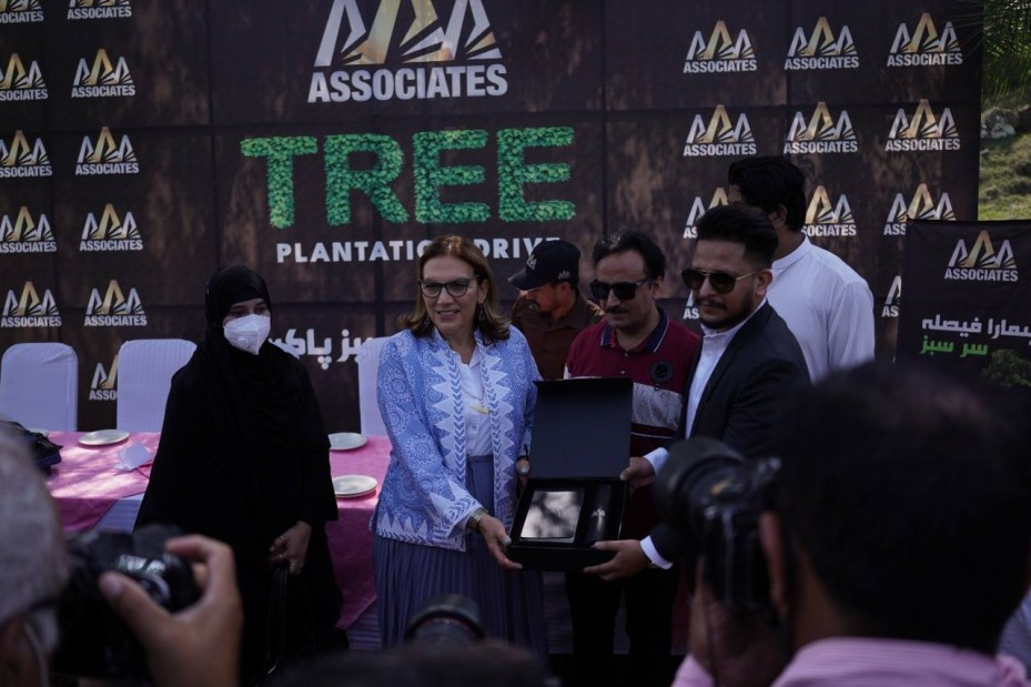 PICSS partnered with AAA Associates to undertake 1 lac tree Plantation drive to support Clean Green Pakistan