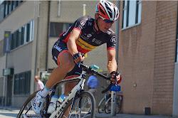 Stijn Devolder showt Belgisch Kampioenentrui in 2e GP Jean-Pierre Monseré