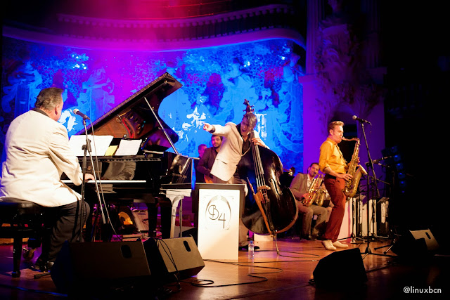 BBBB al Palau de la Música amb Mike Sanchez i Dani Nel·lo